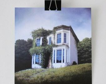 The Return - Fine Art card - House