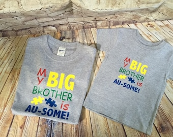 Autism shirt for a child