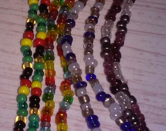 Custom Seed Bead Necklace