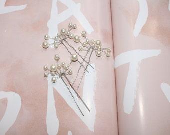 Bridal Pearl Hairpins Hair Jewellery Hair Combs