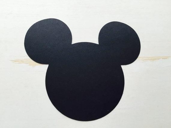 Forme de t te de mickey mouse d couper par designsbydelightful - Tete de mickey a decouper ...