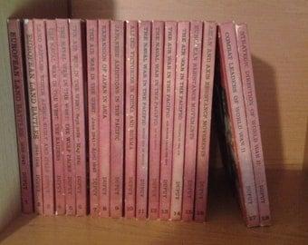 Set Books The Military History of World War 2, 18 books