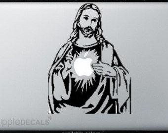 Jesus All MacBooks  Vinyl Stickers, Skin, Decal