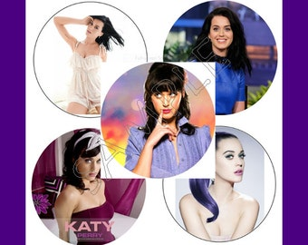 "Katy Perry Sticker Set ""New"""