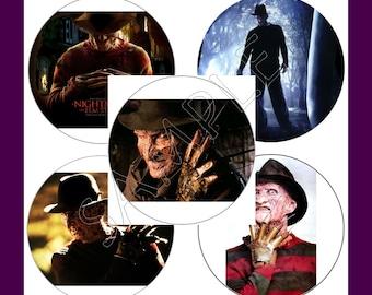 """Freddy Krueger Stickers """"New"""""""