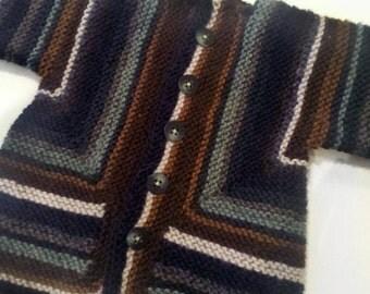 Striped Infant Jacket 1