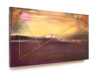 Abstract Art - Metallic Triangle