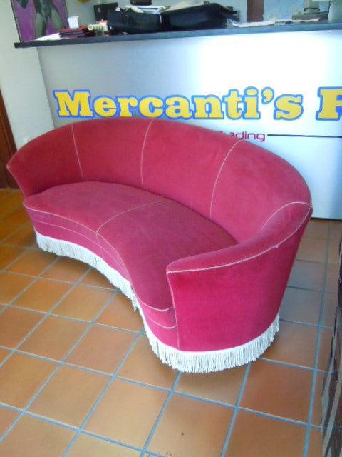 Divano,sofa,design PONTI,Zanuso,Arflex,ISA,anni,60,70,80 ...