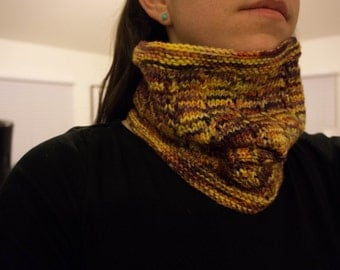 Red and Yellow Cowl