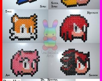 Sonic Pixel Head Magnets
