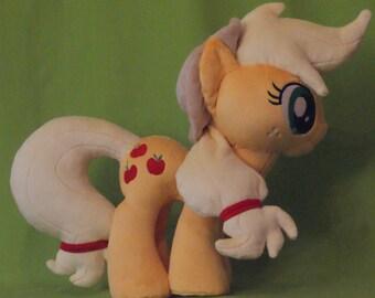 Applejack Inspired Plush//My Little Pony Inspired Plush/Stuffed Animal/Applejack Stuffed Animal/Applejack Doll/Handmade READY TO SHIP