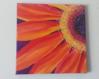 Gerber Daisy Painting 12x12
