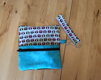iPhone wallet with wristlet