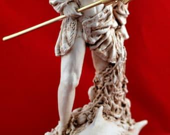 Poseidon greek statue sea god NEW