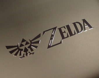 Legend of Zelda Logo / Aufkleber / Sticker / Badge / Label 100 x 24mm[260]