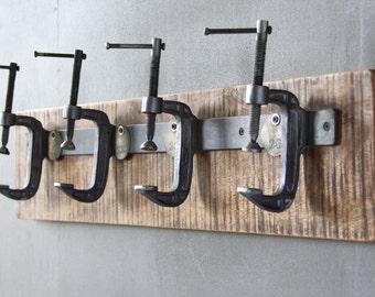 Industrial Clamp Coat Hanger