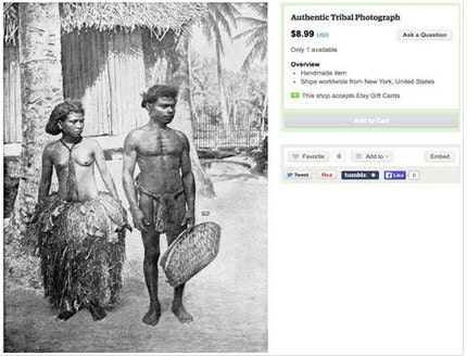 Authentic tribal photograph