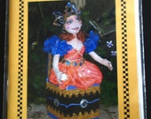 PATTERN, Paper Version- JACLYN in a BOX- make your own Art Doll