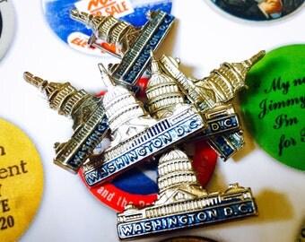 1pc WASHINGTON D.C. Souvenir Pin Capitol Building