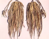 African Blonde Pigtail Fall Set- CUSTOM MADE
