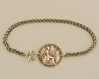 Great Britain Coin Bracelet 1924