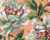 Tree Peony in Peach by Phillip Jacobs, PWPJ069 1/2 yard Kaffe Fassett fabric Quilt Craft and Apparrell fabric