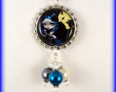 """Jasmine Becket Griffith  """" The Whispered Word, Lenore """"  necklace"""
