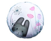 DIY Sewing kit - LAST ONE Ili Pika cushion - throw pillow - magic rabbit bunny plush homewares housewares cute kawaii