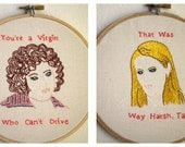 Clueless Embroidery Pattern