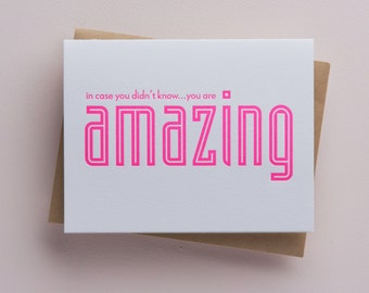 You are Amazing - neon