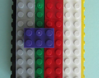 Lego Business Card Case (Rainbow)