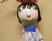Carla Or Edna little girl vases