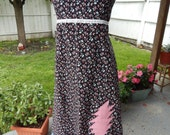 Grateful Dead 13 Pt Lighting Bolt Sundress Hippie Patchwork Dress Festival Dress, OOak Dress, Corset Dress summer dress hippie clothes