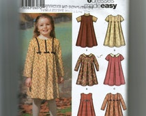 Simplicity Girl's Dress or Jumper Pattern 5830