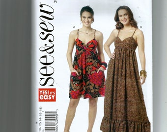 Butterick Misses' Dresses Pattern B5632