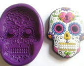SUGARSKULL 55 mm Silicone Mould - Highly Flexible - Sugarpaste, Fondant, Fimo, Icing, Clay, Gumpaste