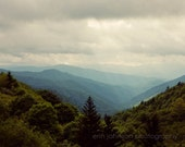 great smoky mountains landscape photography, rustic wall art, green home decor, gatlinburg tennessee, cabin wall art