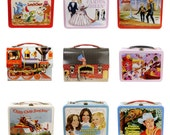 Retro Lunchbox Magnet - Charlie's Angels, Chitty Chitty Bang Bang, Space, Trains and Firemen