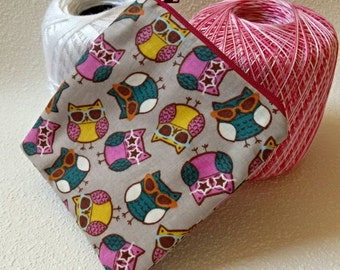 Cool owls square zipper pouch