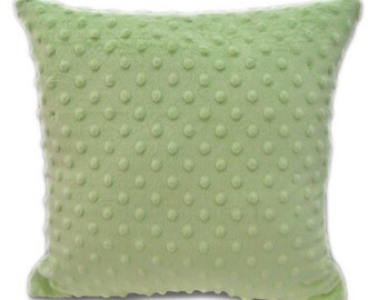 Minky Throw Pillow Match a Minky Baby Blanket for a Super Soft Nap Time Baby Shower Gift