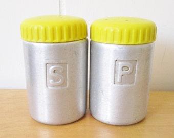 vintage Mid Century salt and pepper shakers