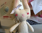 Little bunny rabbit stuffed doll toy