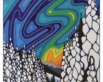 Don't Ever Let Go, Boivin Creek Original Artwork Magnet