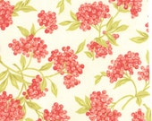 Aloha Girl - Goji Berries in Coconut (cream): sku 20241-19 cotton quilting fabric by Fig Tree and Co. for Moda Fabrics - 1 yard