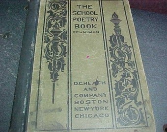The School Poetry Bok by Penniman published by D.C.Heath and Company