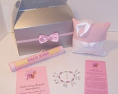 Tooth Fairy Charm Bracelet and Pillow Kit - CV Creationz Pearls from the ToothFairy