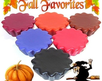 6 Fall Favorites Variety Pack Wax Tarts Wickless Candle Melts Autumn Scents
