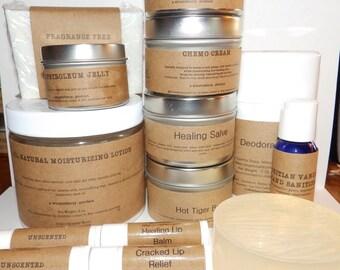 Cancer Care Set - All Natural - Unscented