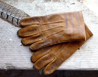 Child's Little Leather Gloves Size 00