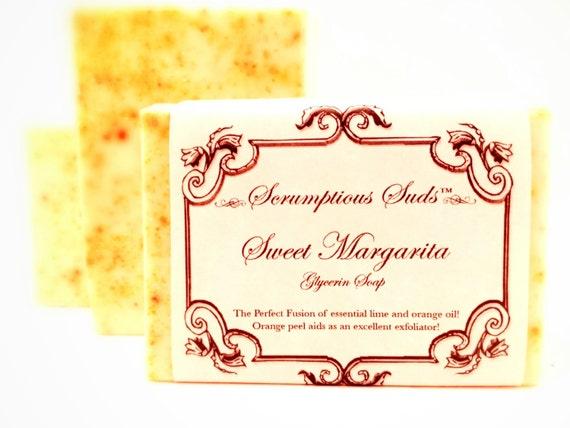 Sweet Margarita Glycerin Soap